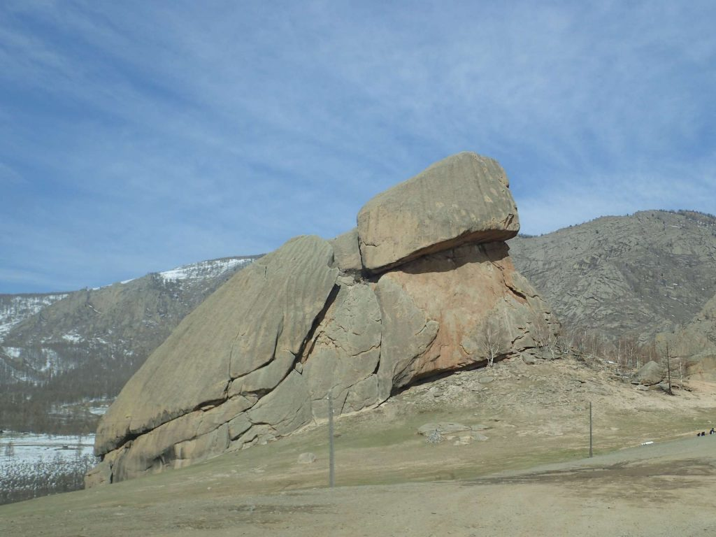 Turtle Rock, one of the more famous rock formations around Terelj