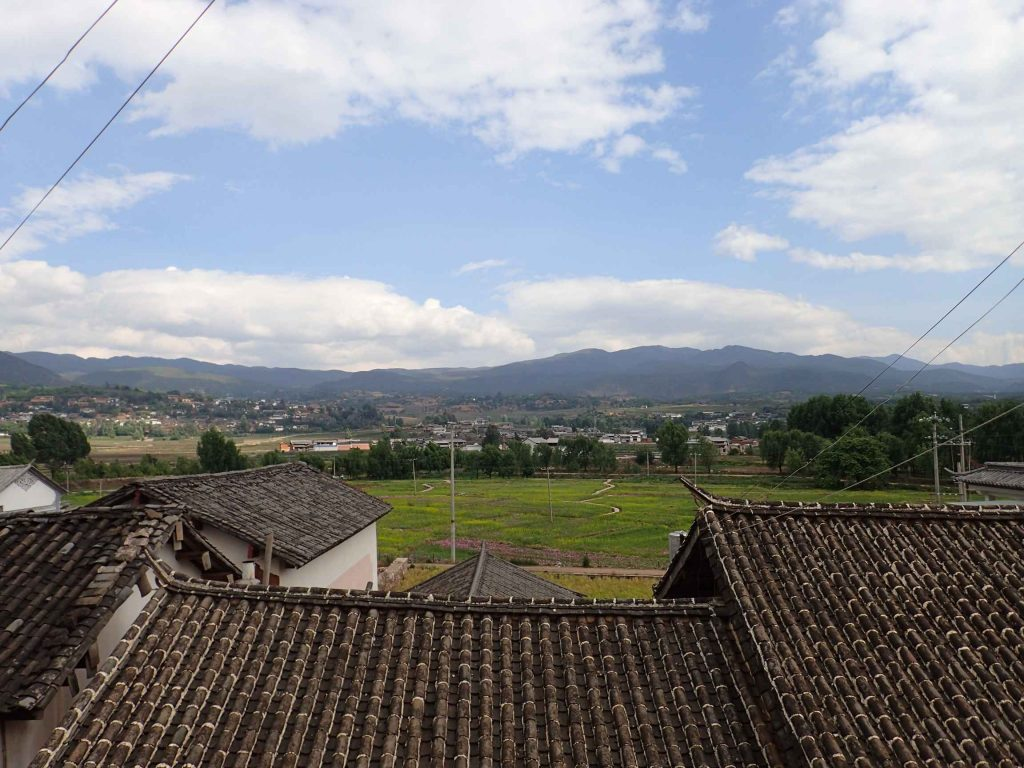 One of the first vistas upon entering the town