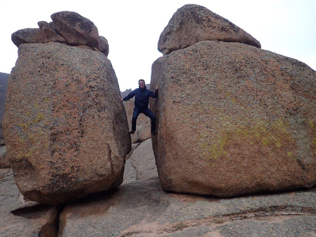 Between a rock and a… rock?