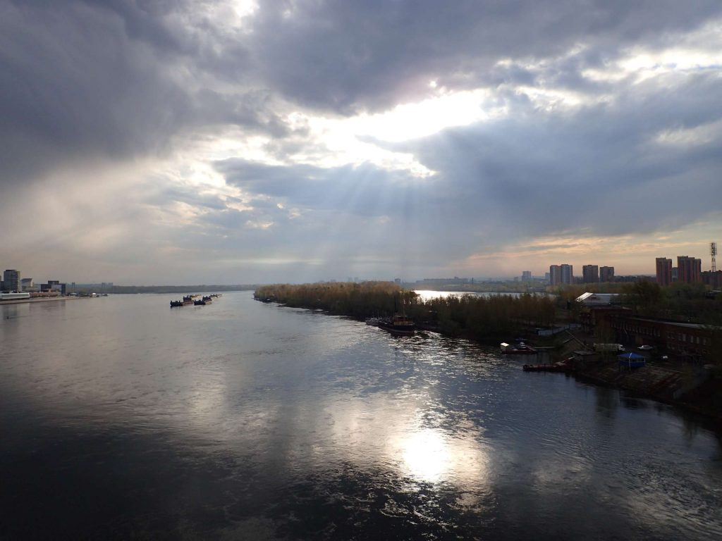 Sun's coming out: welcome to Krasnoyarsk
