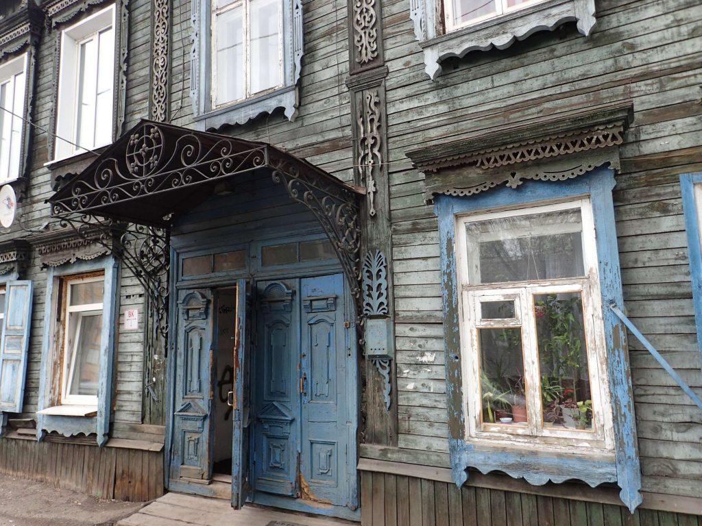 Siberian architecture