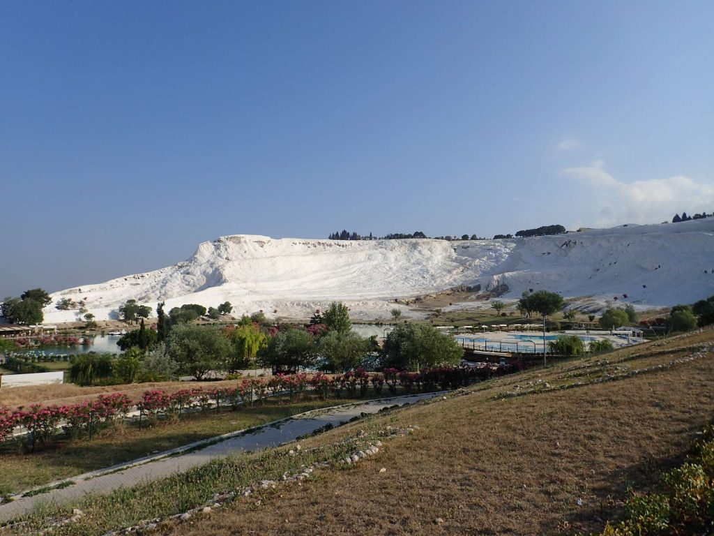 The white walls of Pamukkale
