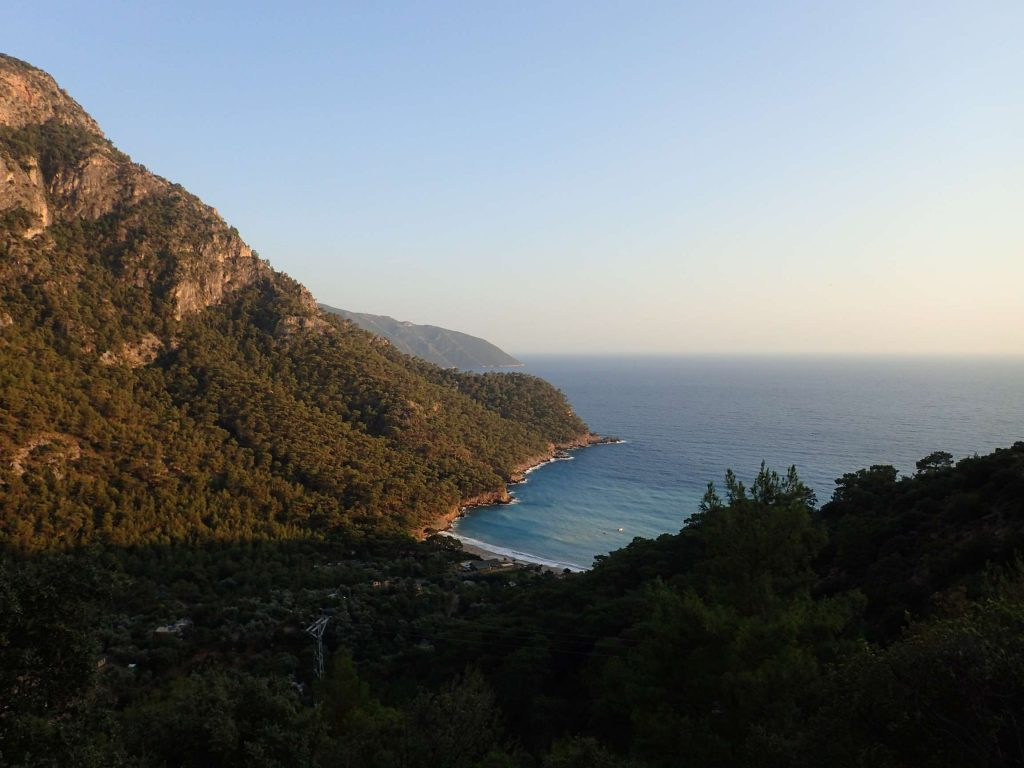 Kabak valley in the late afternoon light