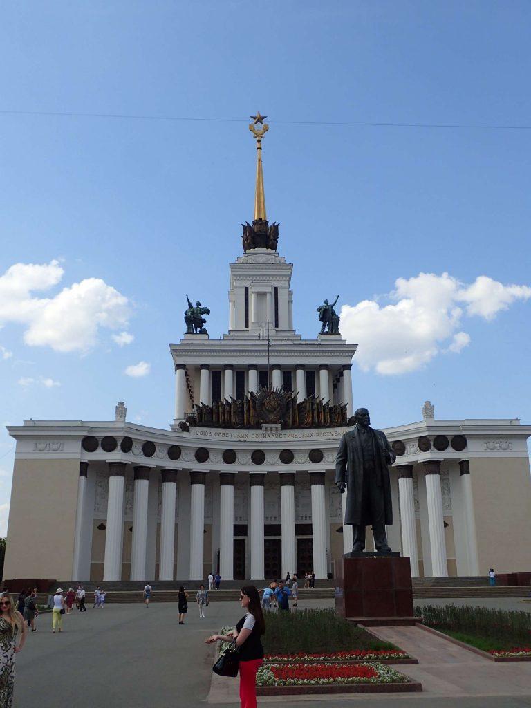 Obligatory statue of Lenin