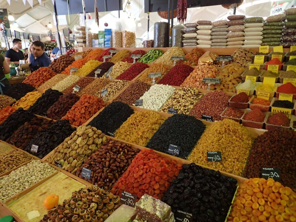 Spices, dried fruit…