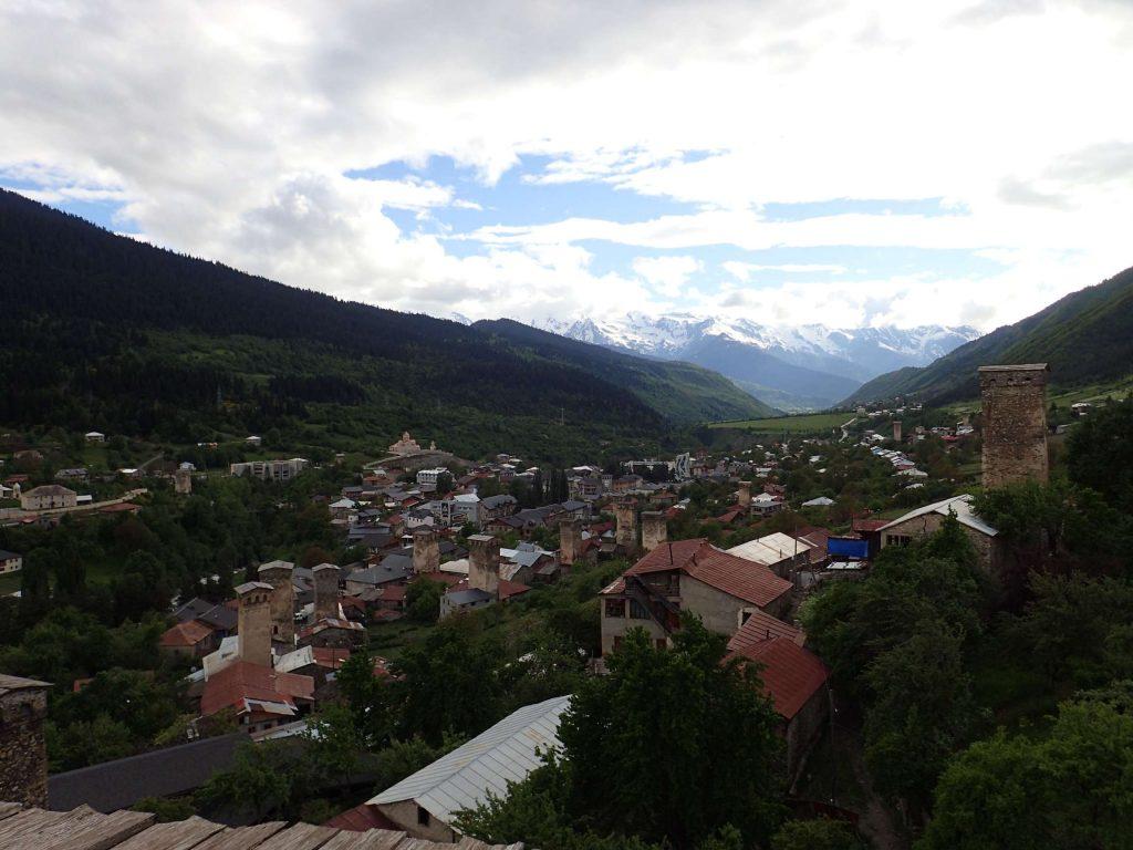 Mestia and mountains