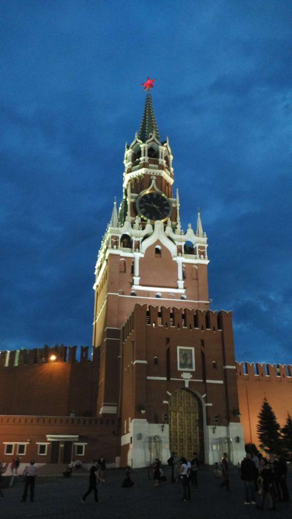 The gingerbread Kremlin