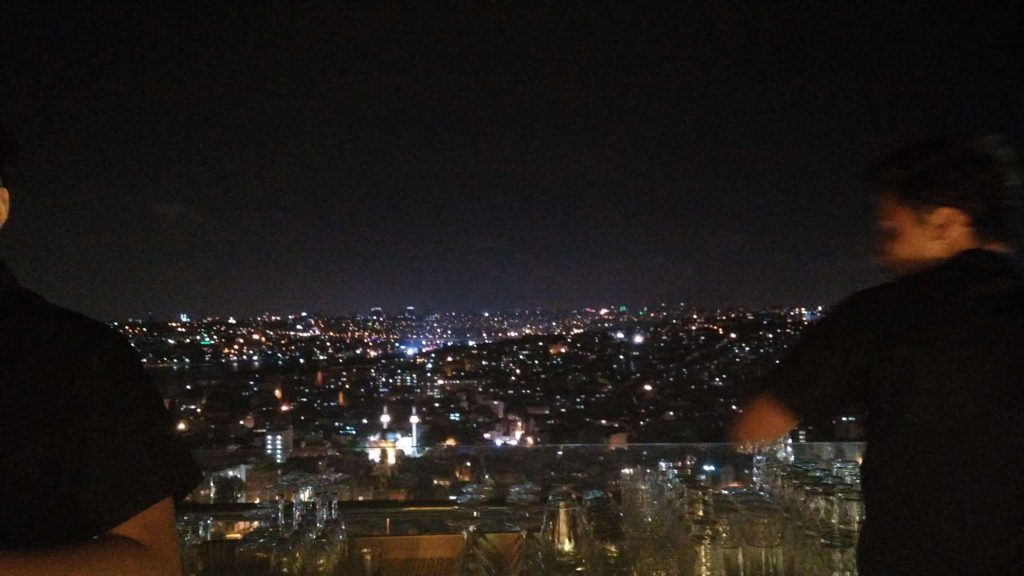 And the nighttime lights