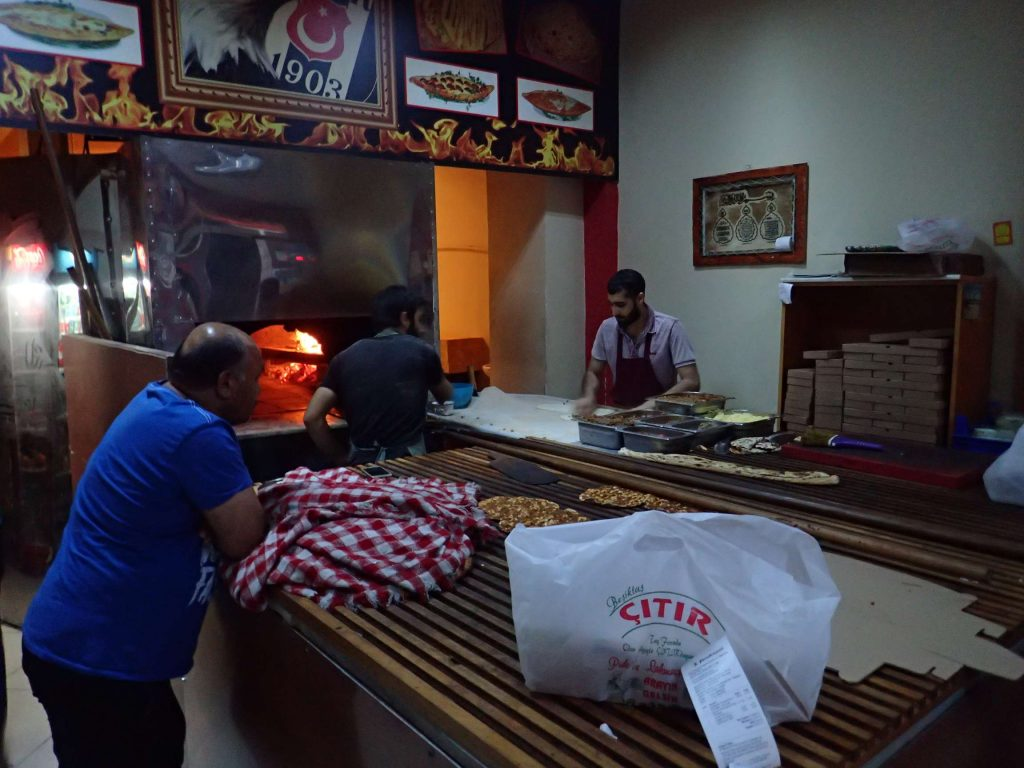 A local firin (bakery), churning out lahmacun and pide for the evening rush