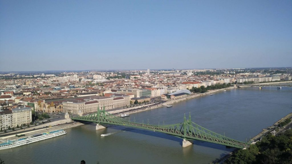One side of Budapest