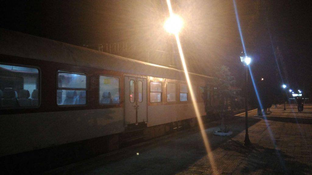Our charmingly rubbish train