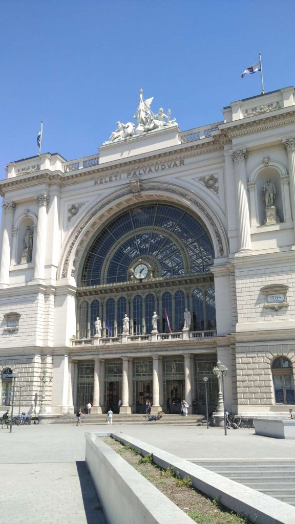 Even the train station is beautiful (though, if one building in a city is, it's usually them)