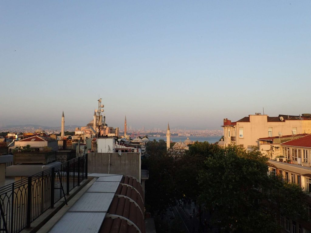 The hostel had a decent view, though