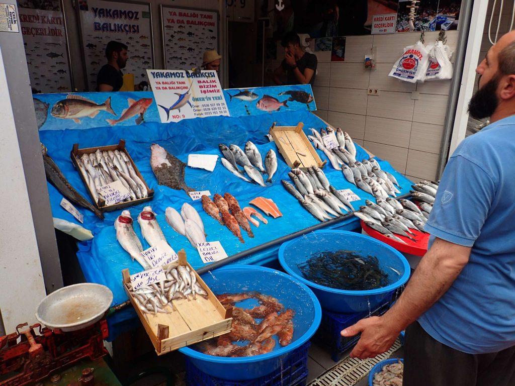 Fish market bargaining