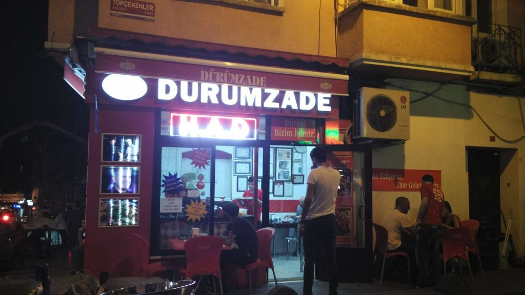 One of the best kebab places in Istanbul
