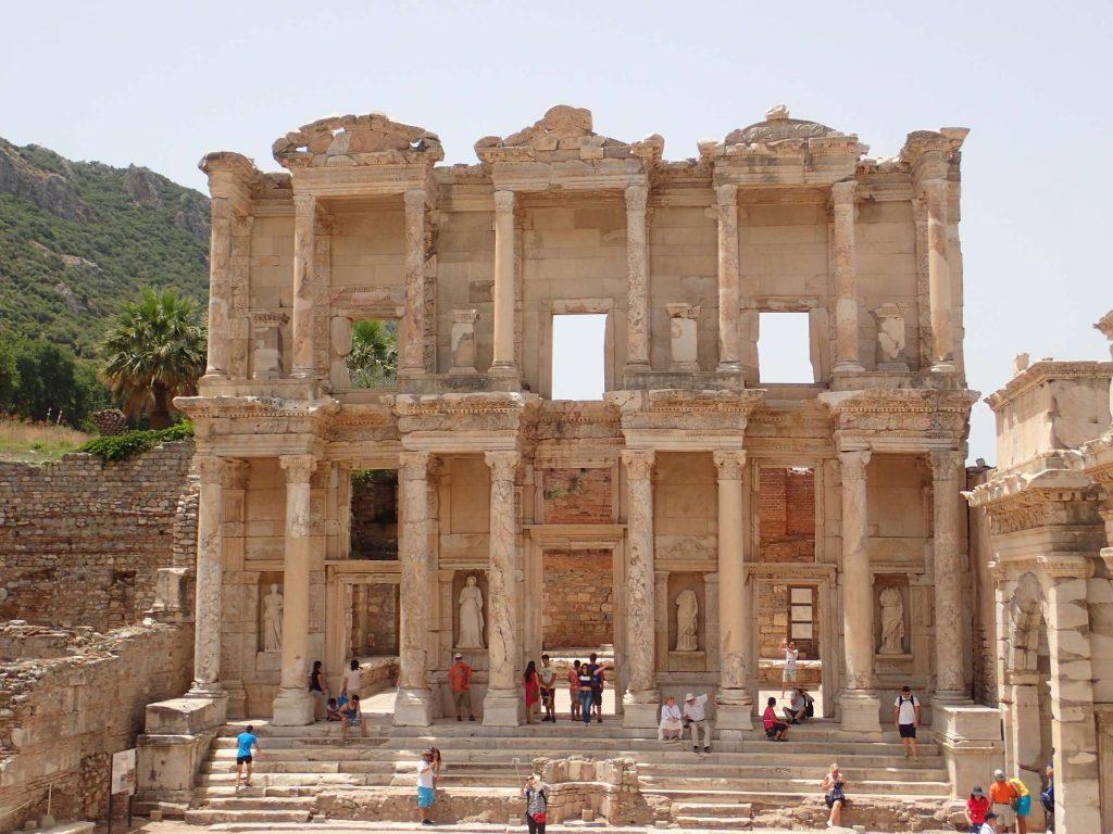 The famous façade