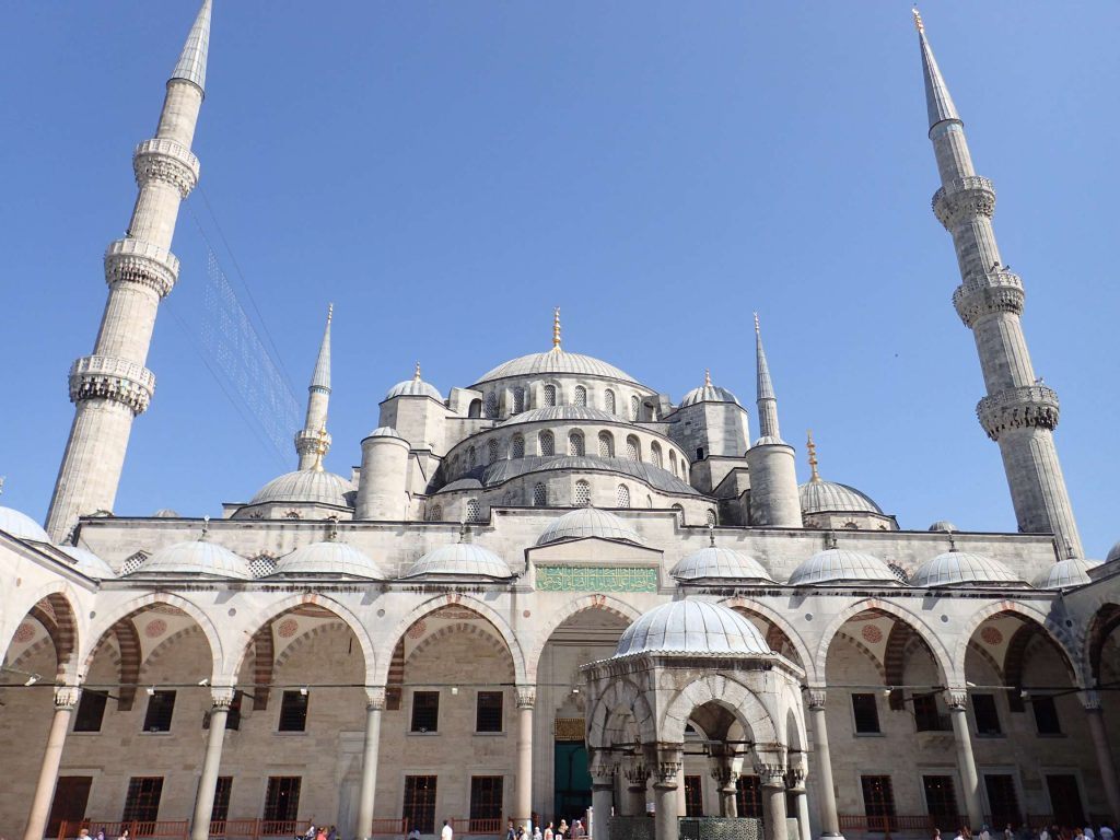 Cascading domes and vaulting minarets
