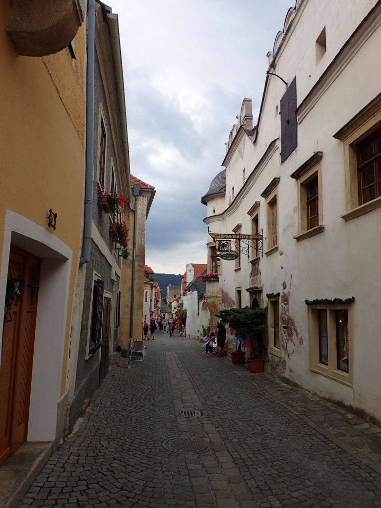 A little street through one of the towns in Wachau