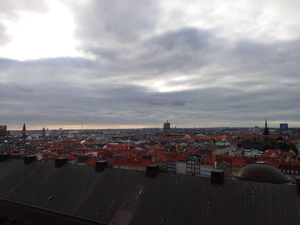 Copenhagen's skyline: some have joked that Jante Law keeps it so flat